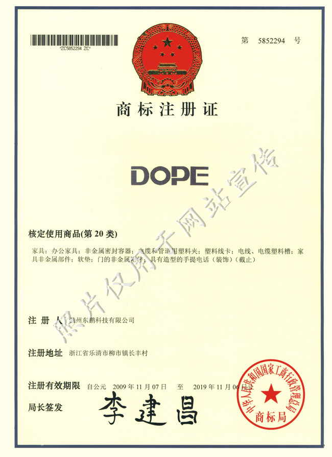 DOPE(第20类商标)